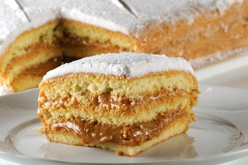 Receita de bolo de bem casado fácil