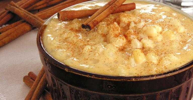 Receita de canjica com leite condensado cozido