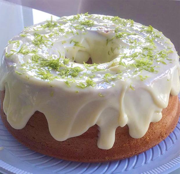 Receita de cobertura de limão para bolo