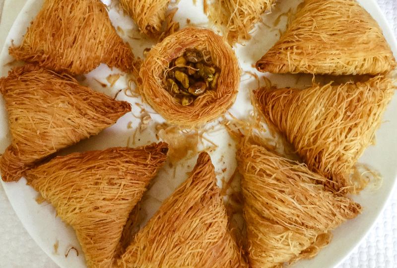 Receita de doce sírio fácil e delicioso