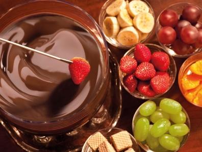 Receita de fondue de chocolate super simples