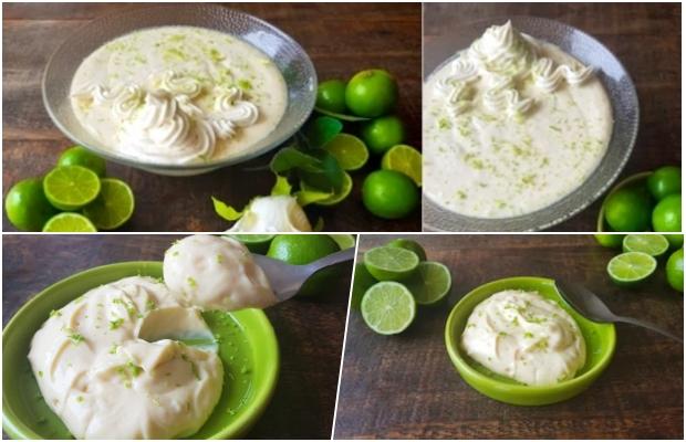Receita de mousse de limão com leite em pó