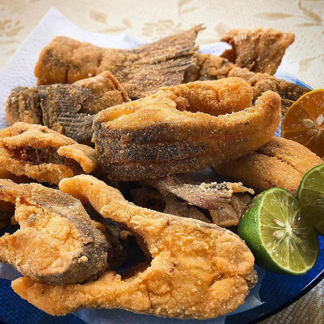 Receita de peixe frito sequinho
