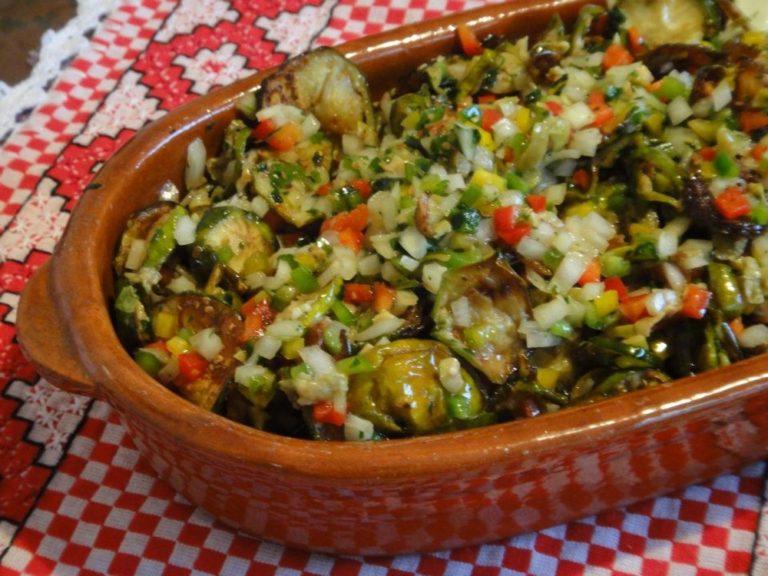 Receita de salada de jiló