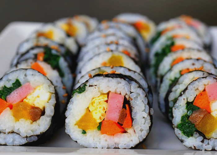 Receita de Sushi de legumes fácil