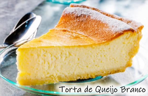 Receita de torta de queijo minas deliciosa