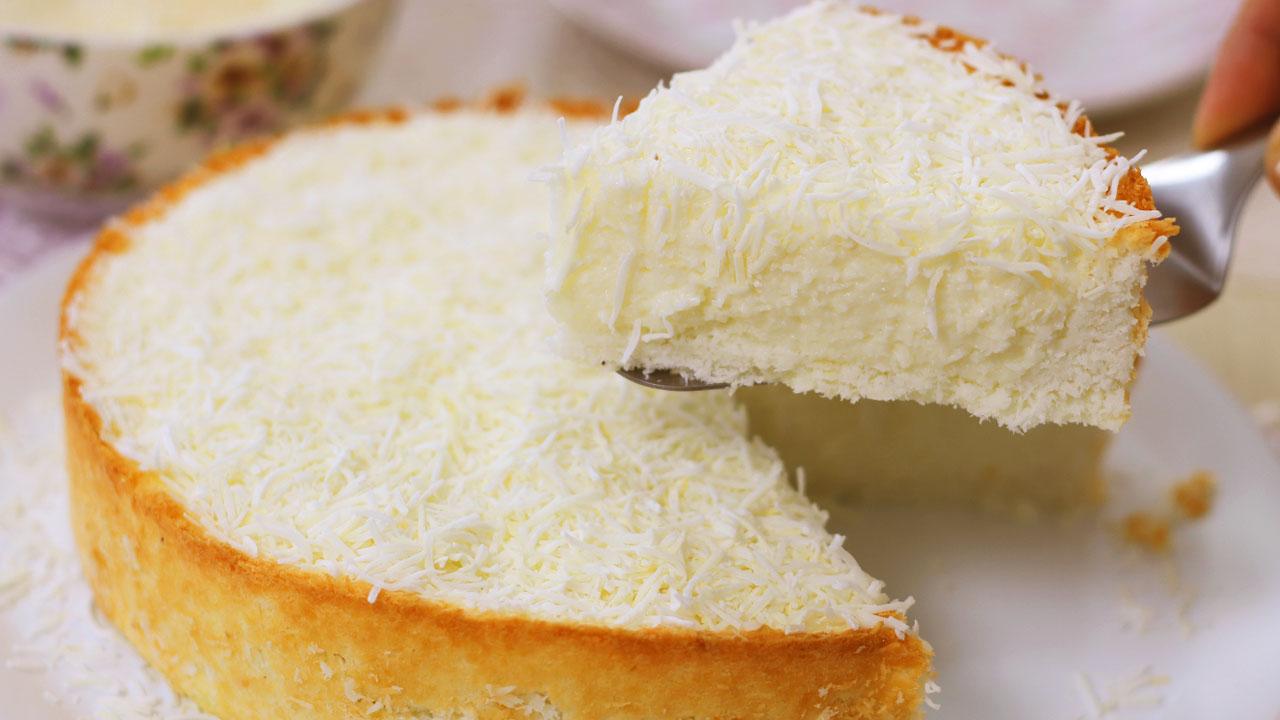 Torta de Coco dos Anjos