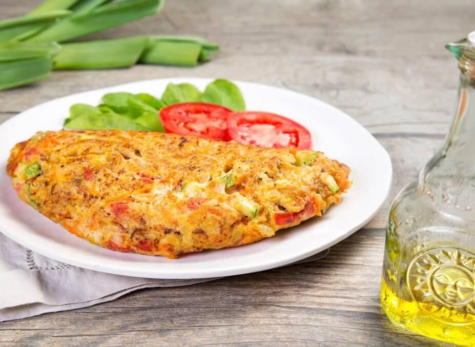 Como fazer omelete simples