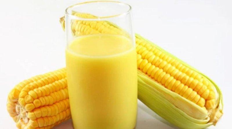 Como fazer suco de milho