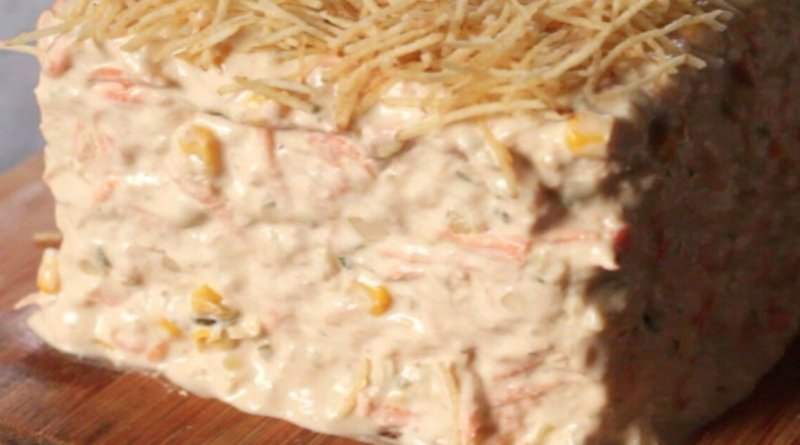 Como fazer torta de pão com atum