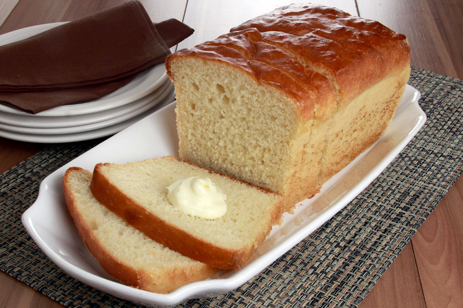 Pão de forma caseiro de liquidificador
