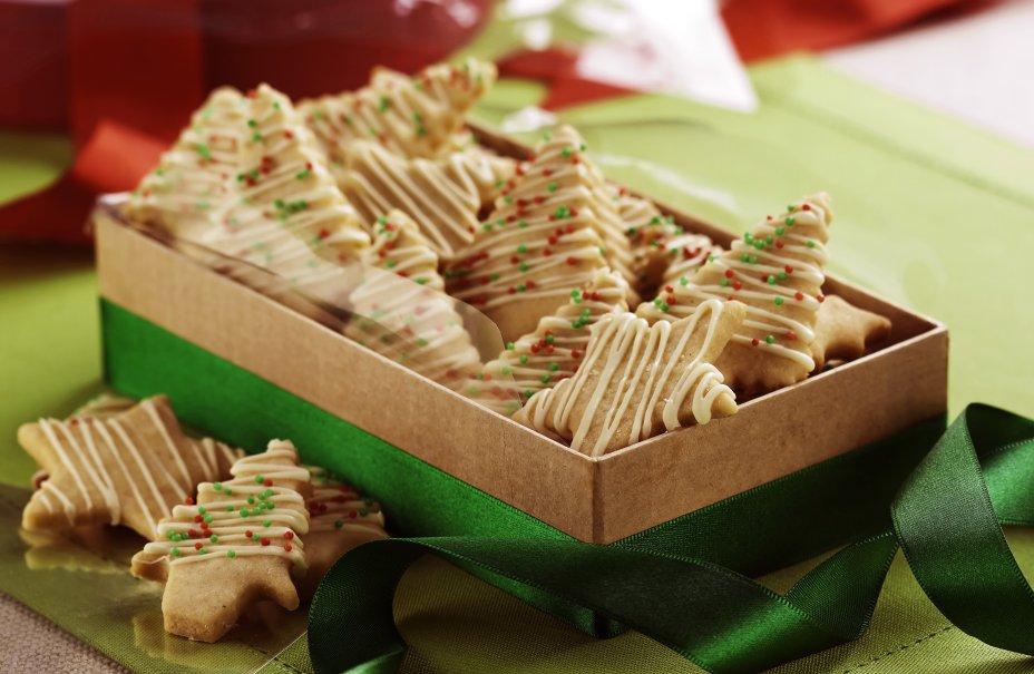 Receita de biscoito de canela natalina fácil