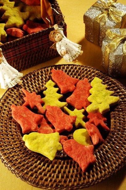 Receita de biscoito de natal light