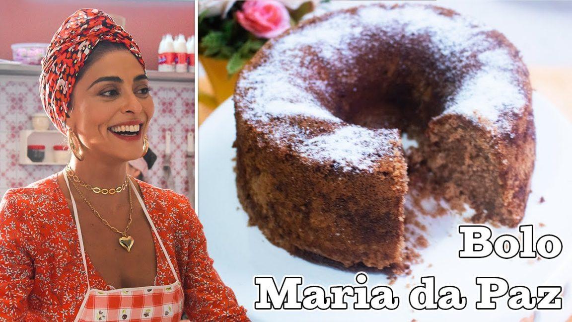Receita de bolo mágico da maria da paz