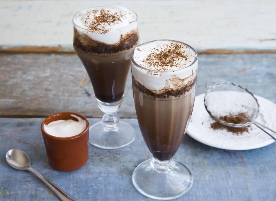 Receita de cappuccino zero lactose
