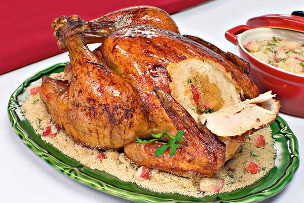Receita de frango de natal fácil