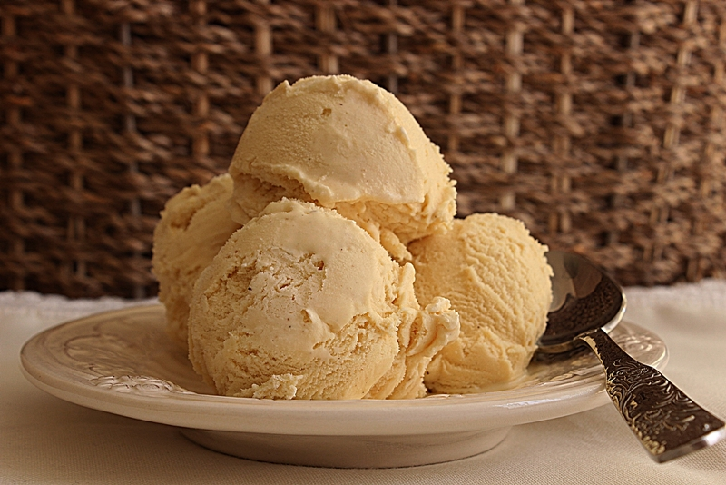Receita de sorvete de baunilha super cremoso