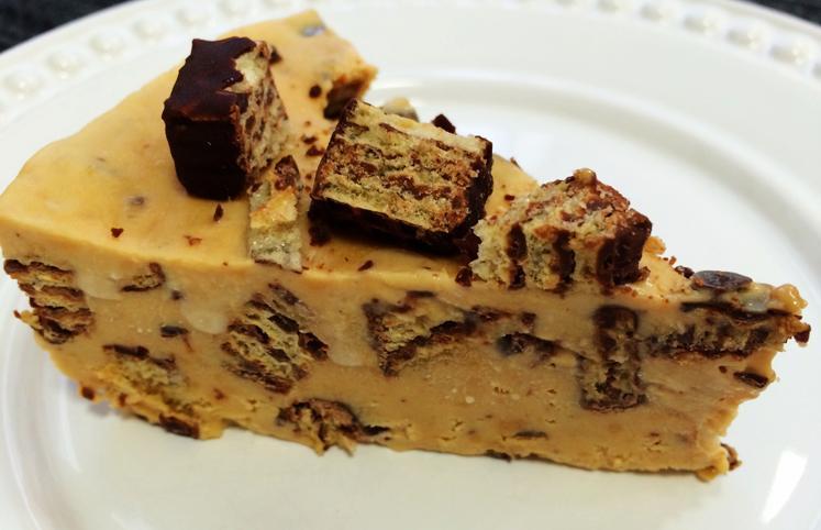 Receita de torta  de bis gelada