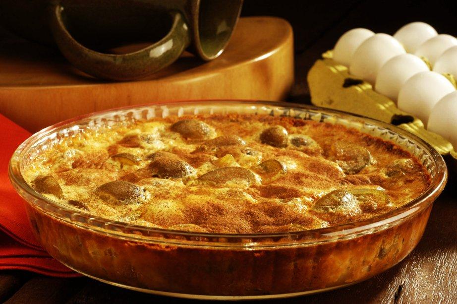 Receita torta de maça com figo para o natal