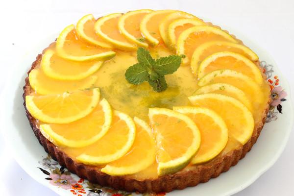 torta integral de laranja com ricota fácil