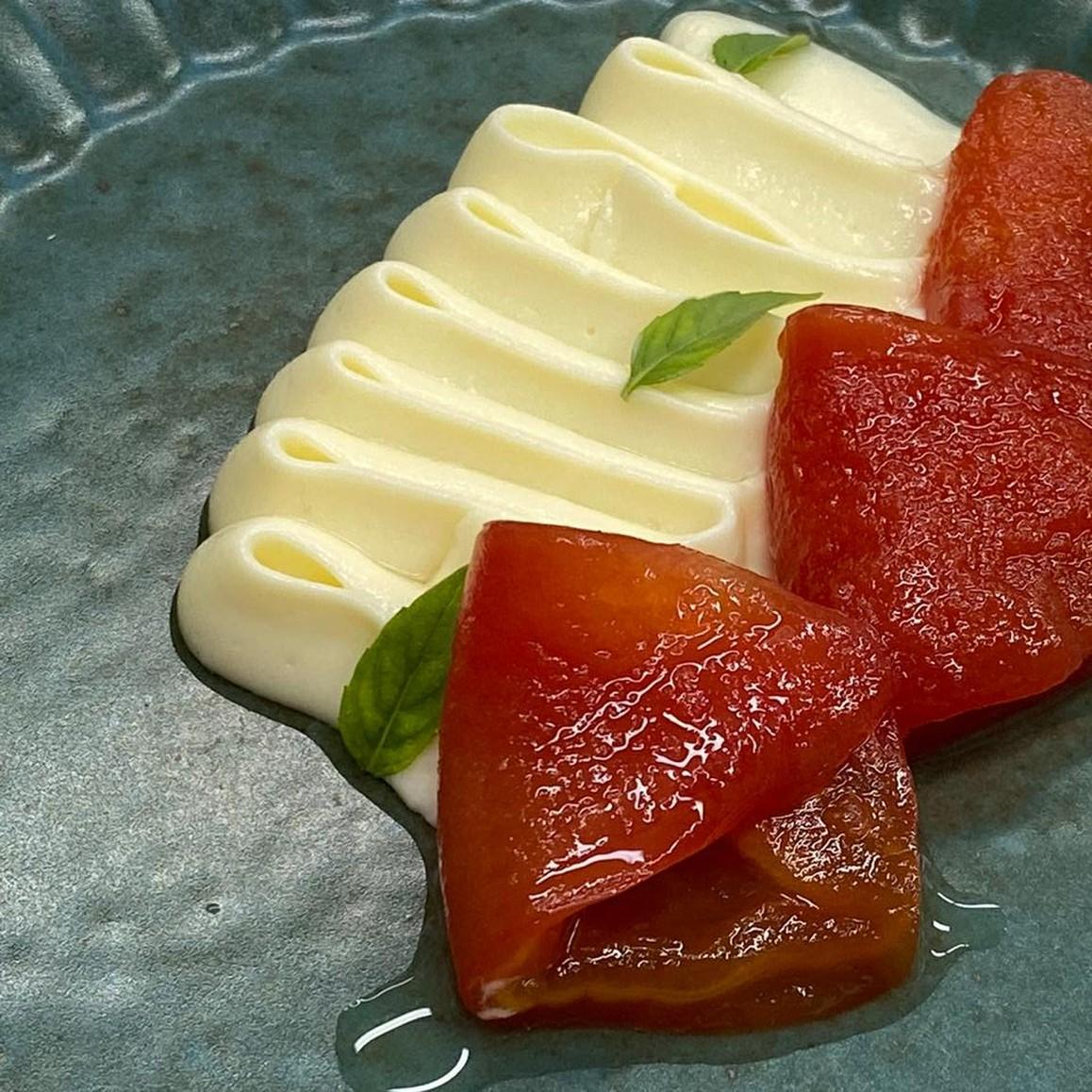 Doce de tomate com creme de queijo maravilho