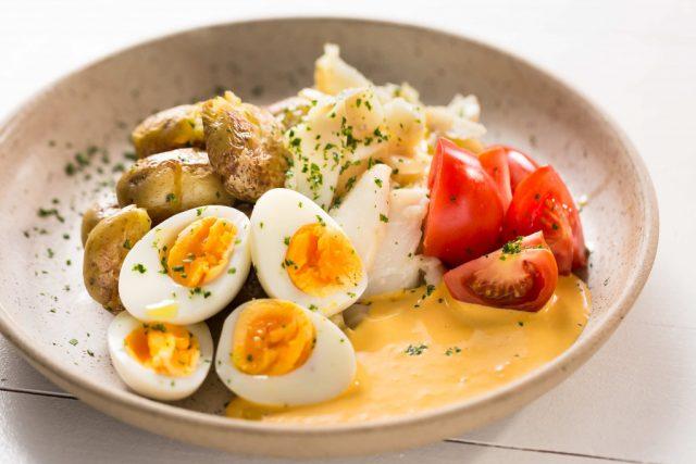 Salada de bacalhau aos açores fácil