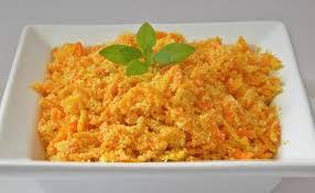 farofa de cenoura maravilhoso