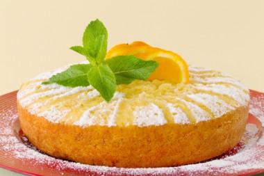 Bolo diet de laranja muito prático e fica muito delicioso