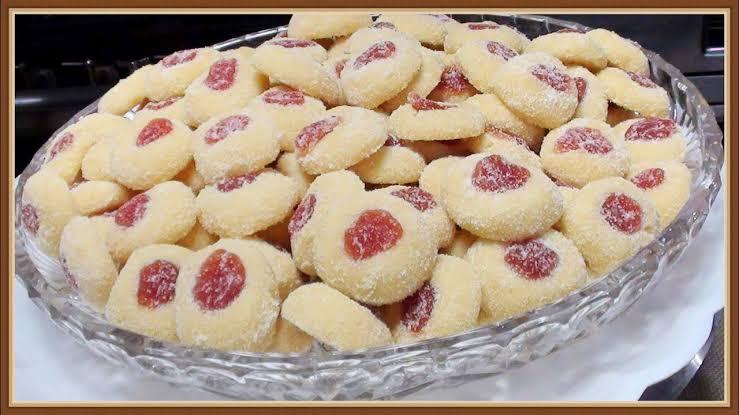 Como fazer biscoito amanteigado com goiabada