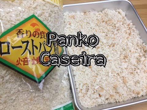 Como fazer farinha panko caseira