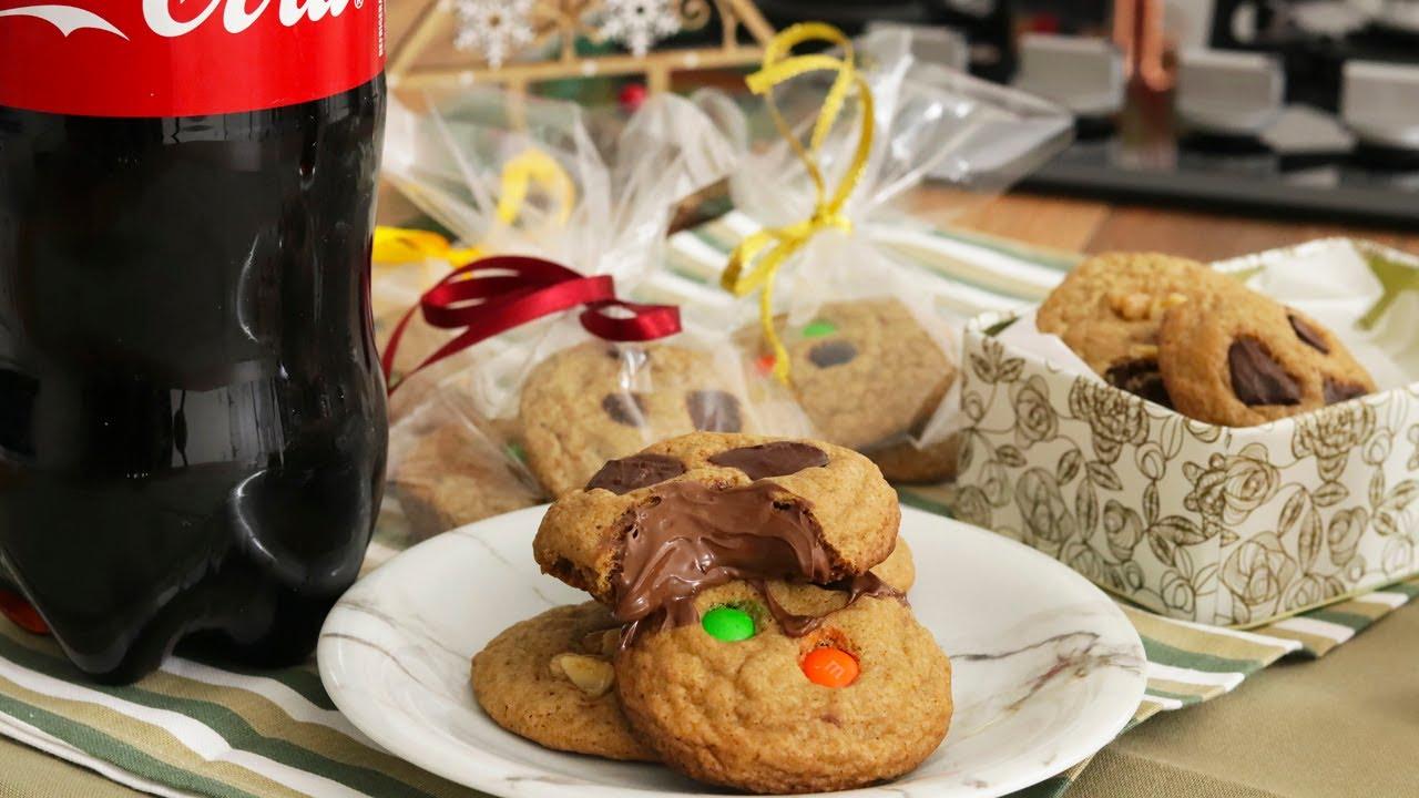 Cookies recheados caseiro