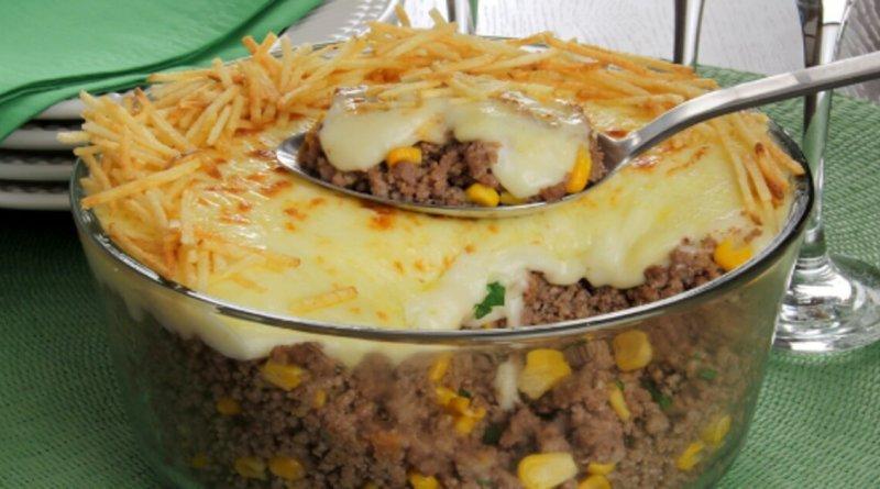 Fricassê de carne moída prático e rápido fica uma delícia