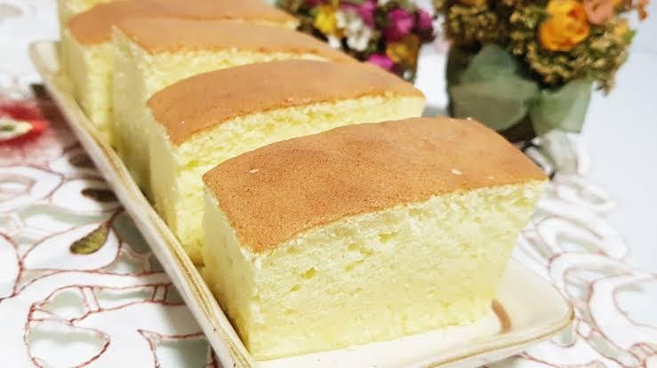 Pão de ló japonês kasutera muito fácil