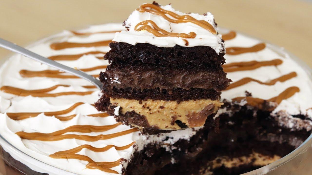 Pave de bolo muito saboroso e fácil