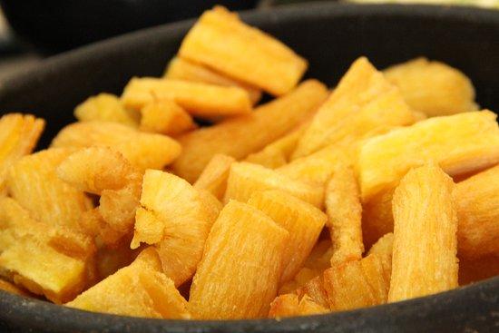 Receita de aipim frito