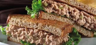 Sanduíche natural fácil de atum
