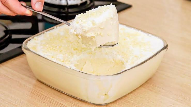 Sobremesa de leite ninho rápida e deliciosa
