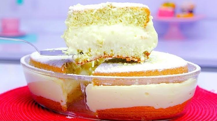 Sonho de travessa de padaria muito fácil e prático