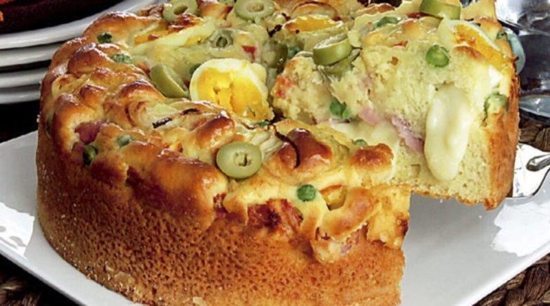 Torta portuguesa fica uma delícia é prática e fácil de fazer