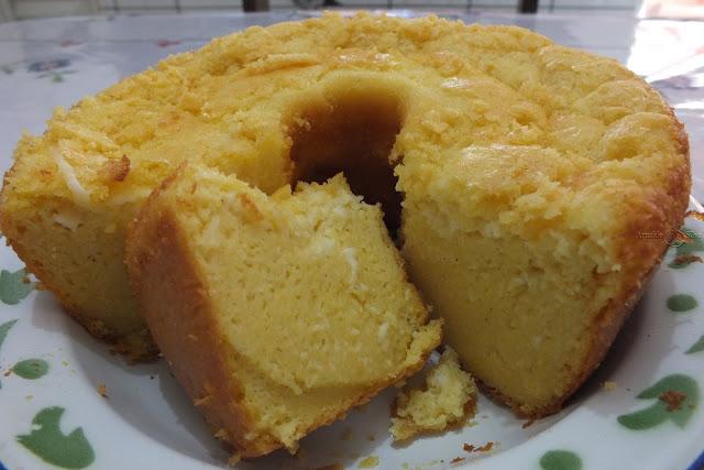 Aprenda a fazer bolo de fubá de sabará muito fácil