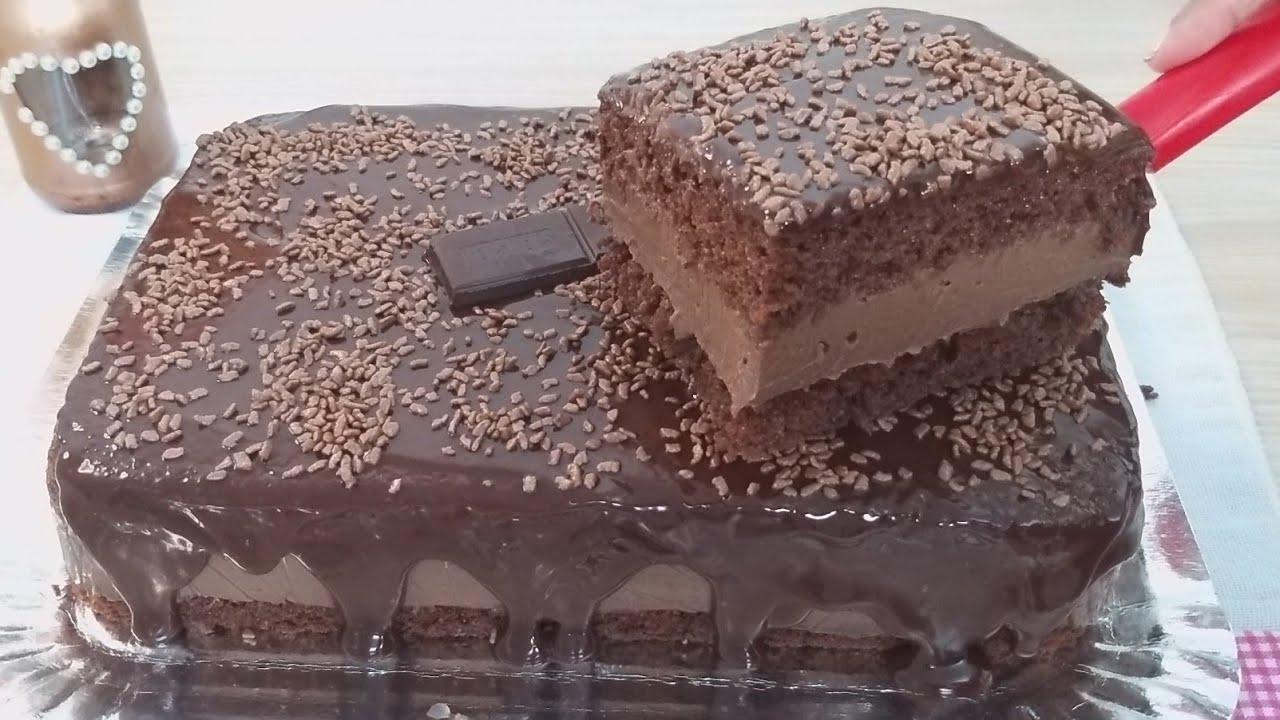 Como fazer um delicioso bolo gelado de chocolate