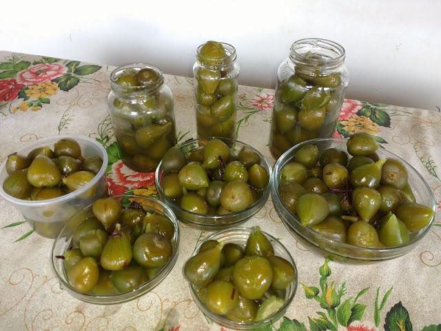 Doce de figo verde em calda muito fácil