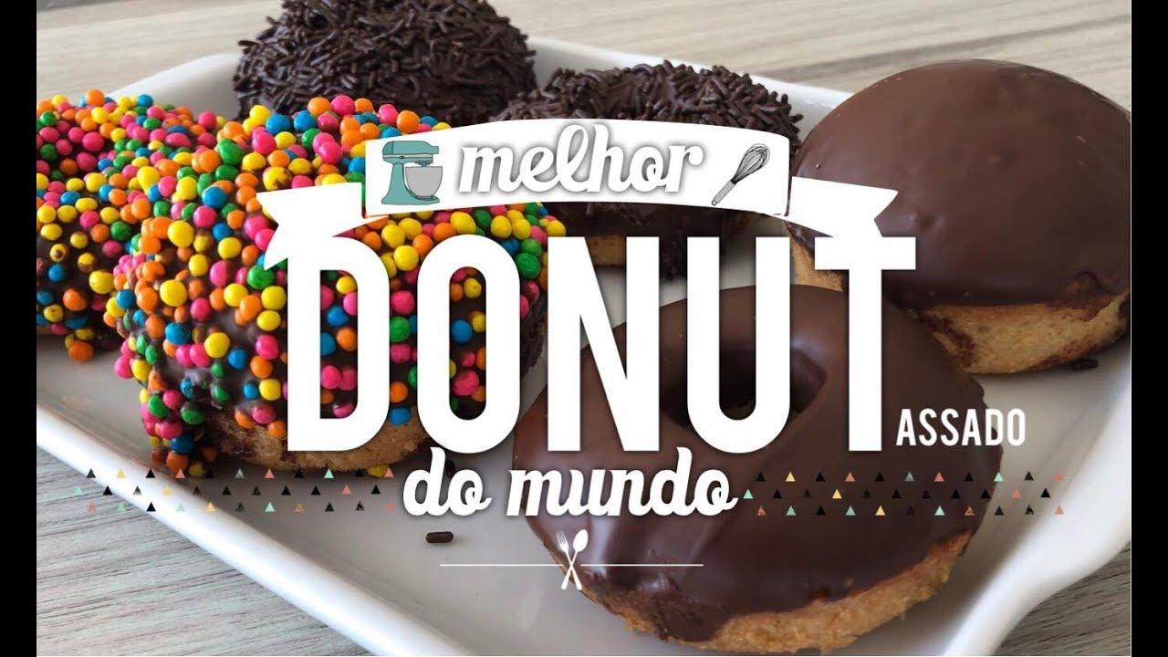 Donuts assados um clássico americano e irresistível