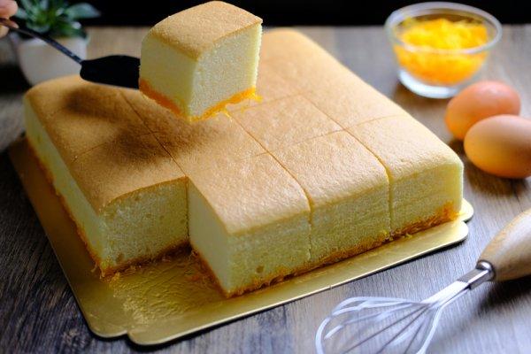 Massa de pão de ló fácil e prática