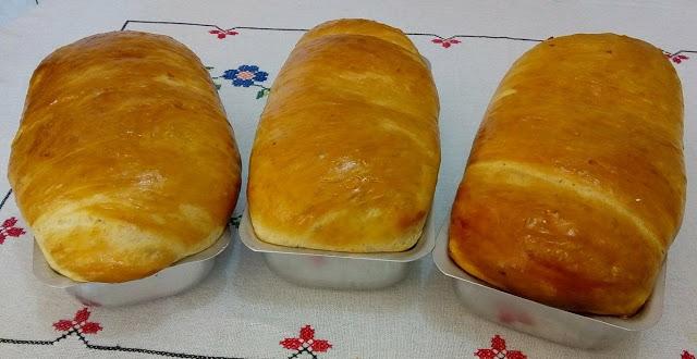Pão caseiro mineiro fácil e muito saboroso