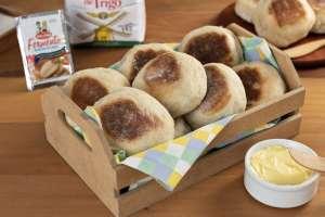 Pão de caco feito na frigideira  fácil