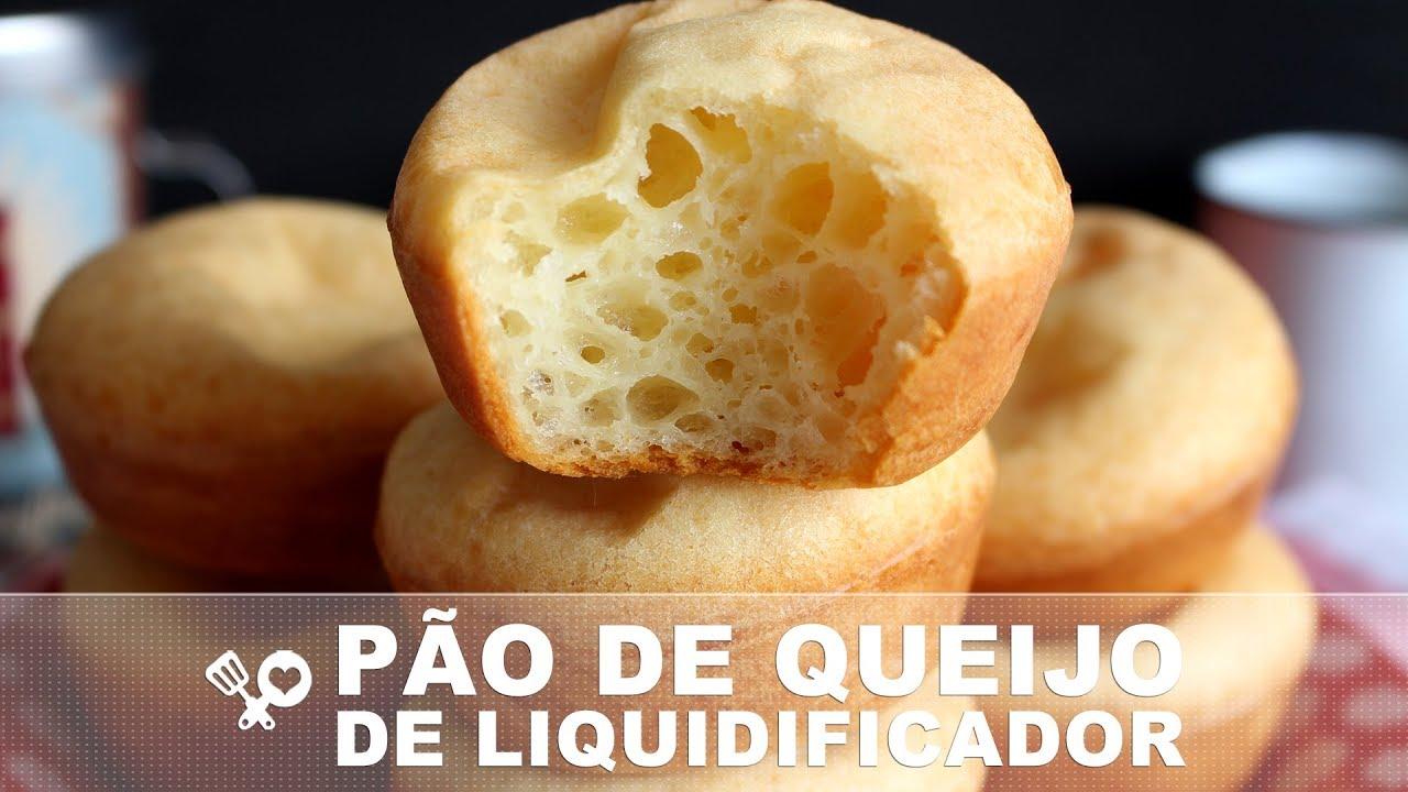 Pão de queijo de liquidificador muito fácil