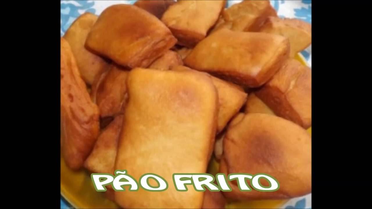 Receita de pão frito caseiro fácil