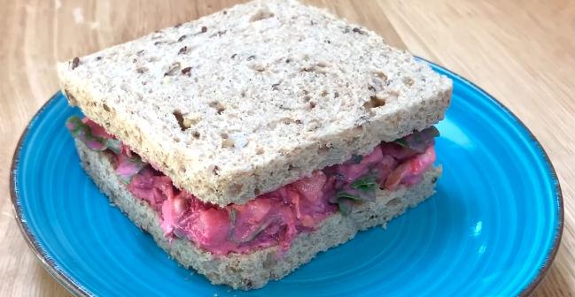 Receita de sanduíche para desinchar e baixar a pressão alta