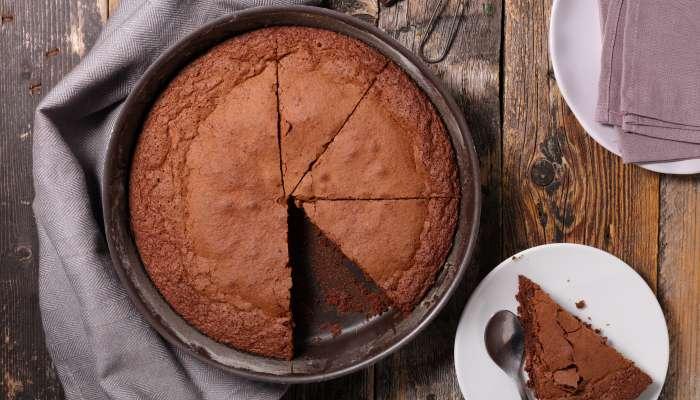 Torta de chocolate com apenas 2 ingredientes